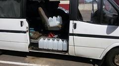 В Ушачском районе задержано 48 литров спиртосодержащей жидкости