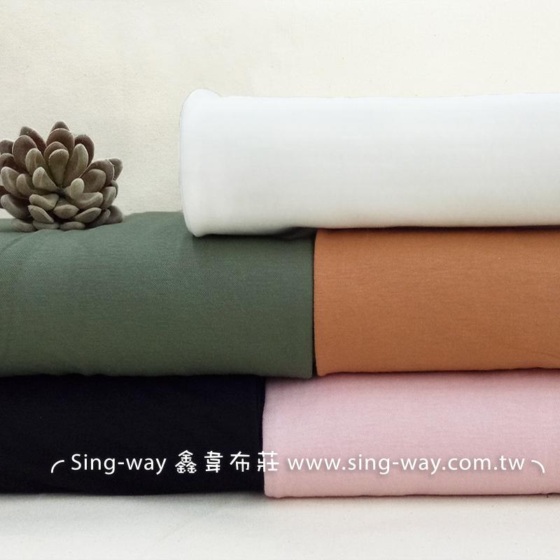素面 簡約 無印 輕便舒適 短袖 長裙 彈性針織布料 LA790027