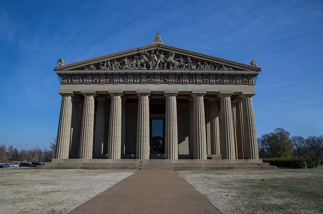 Parthenon Replica, Nashville, Tennessee Tuyen Chau