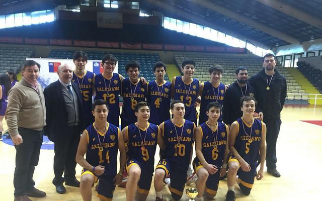 Selección de Honor de Básquetbol ISV. Campeón Regional Campeonato IND