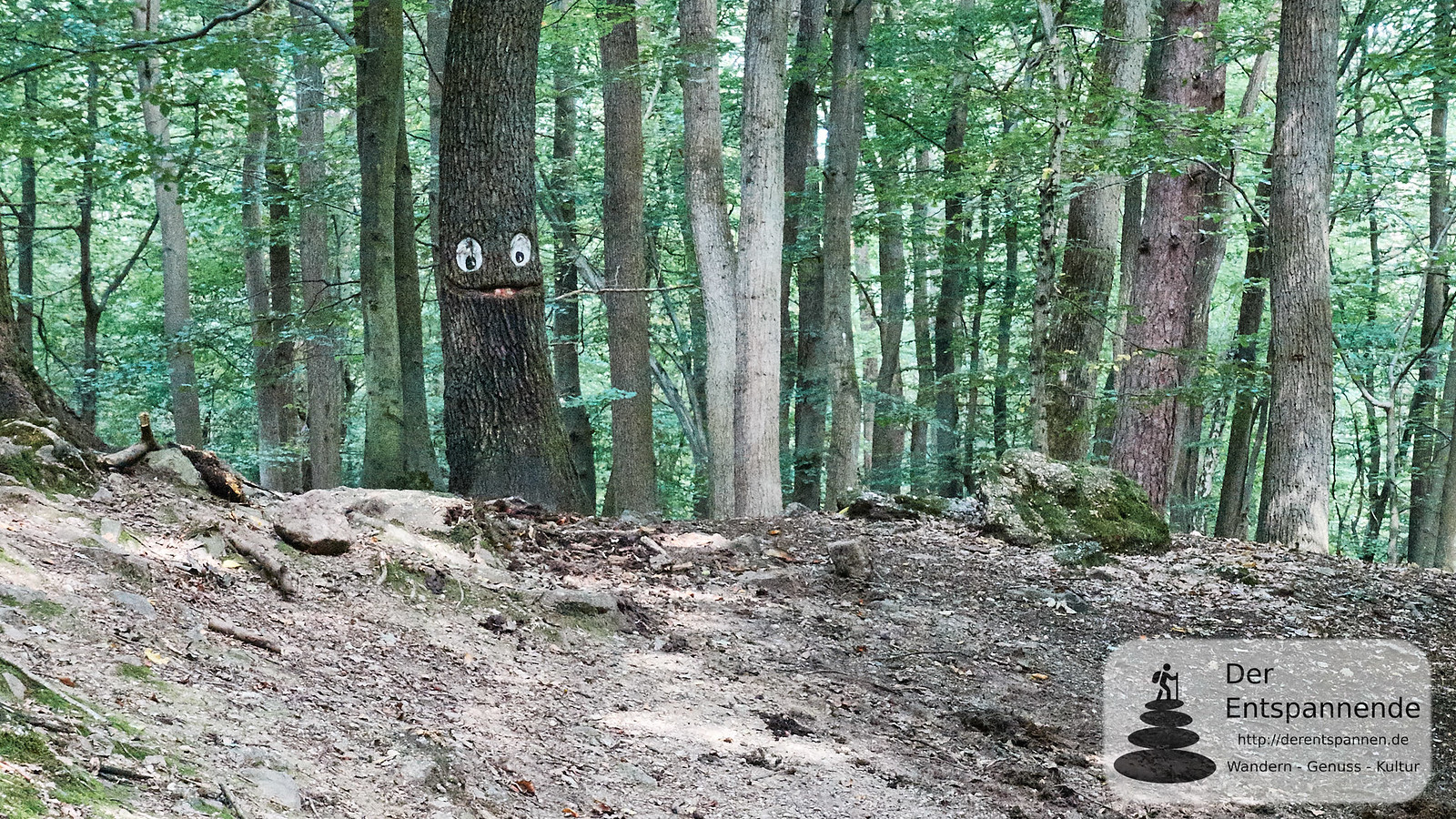 Smiley in der Steckeschlääferklamm