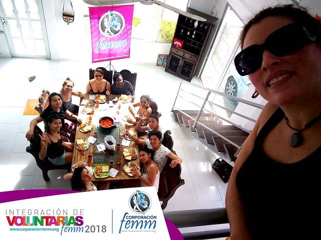 Femm en paseo integración Julio 2018