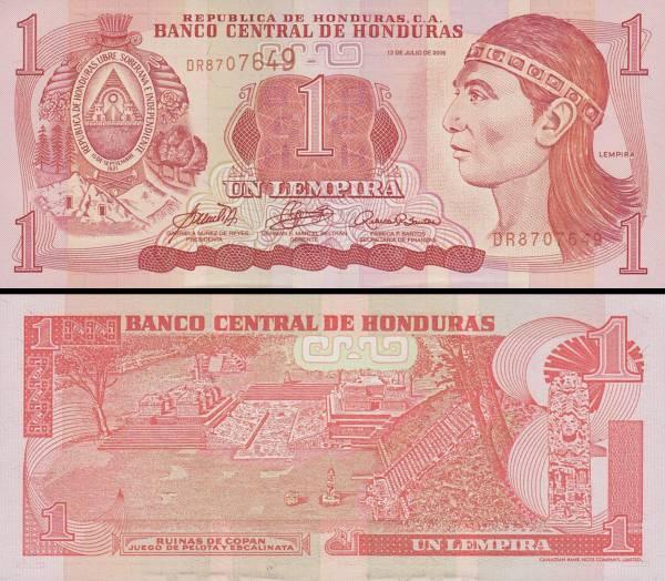 1 Lempira Honduras 2000-6, P84