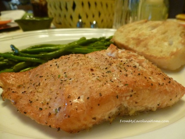 Grilled Cedar Plank Fish at From My Carolina Home