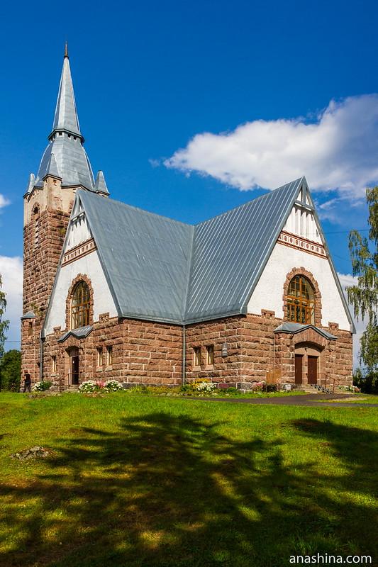 Финская лютеранская кирха в Мельникове (Ряйсяля)