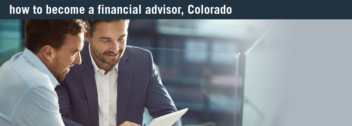 how to become an finance expert colorado