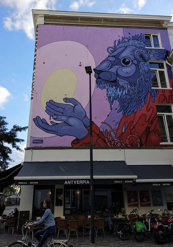 The Gift  - 30419005458 3ca2355446 c - Mechelen Muurt: arte urbano en Malinas.