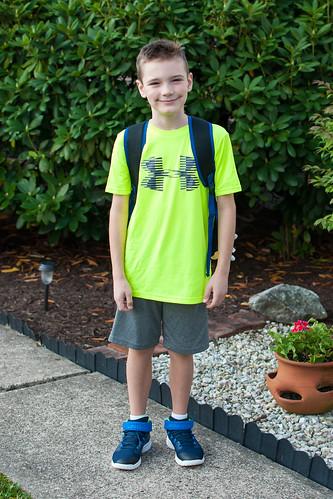 First Day of Third Grade