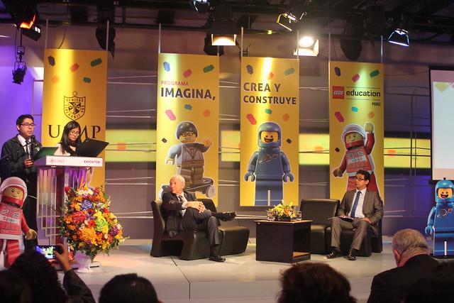 """Universidad de San Martín de Porres presentó programa de Lego Education """"Imagina, crea y construye"""" para colegios de Lima"""