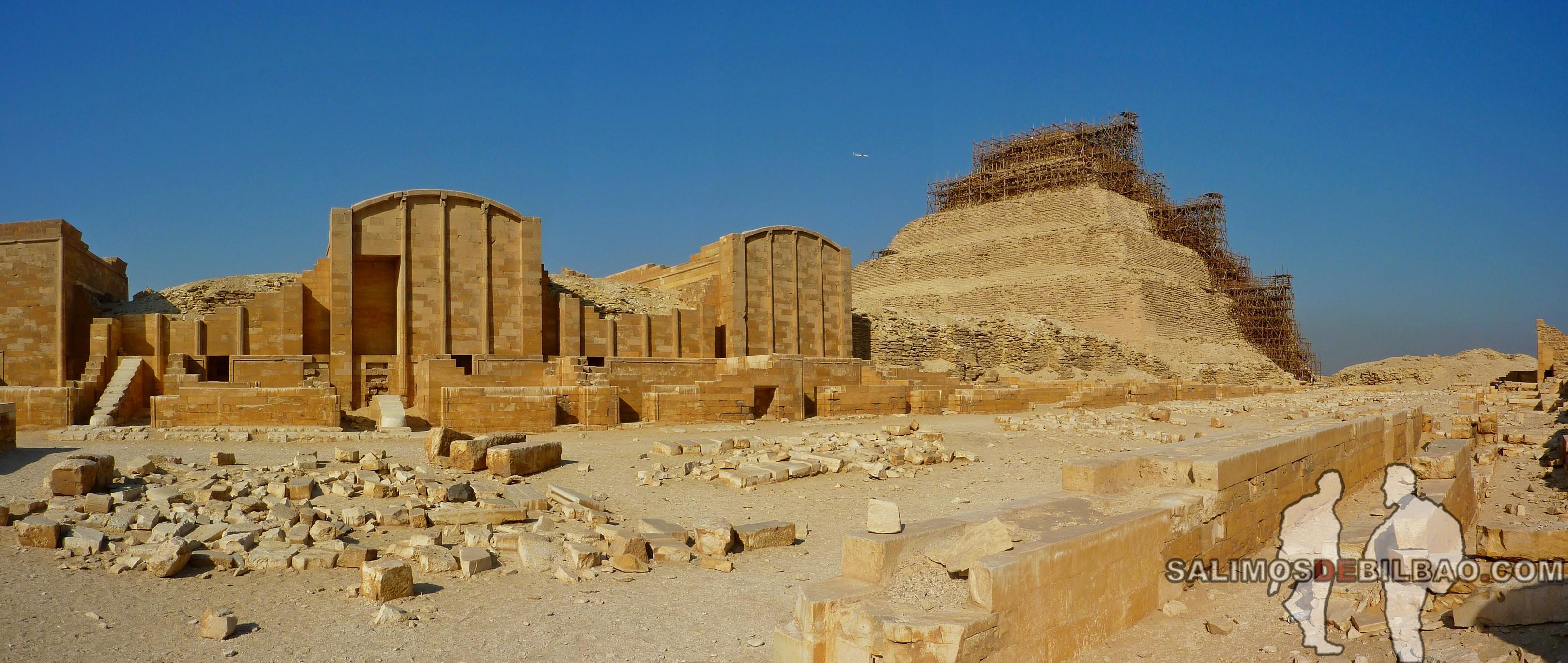 0308. Pano, Complejo de la Pirámide escalonada de Zoser, Saqqara