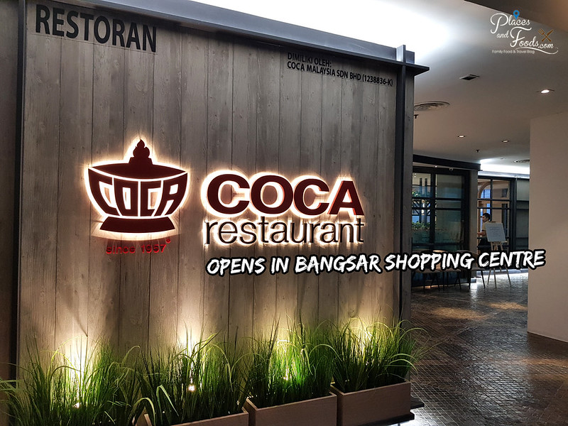 coca restaurant malaysia