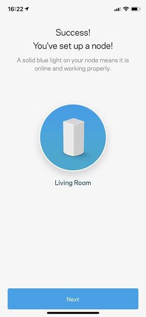 Linksys iOS App - Setup - #17