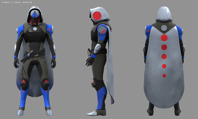 Destiny 2: Forsaken Concept Art – PlayStation-Exclusive Hunter Armor
