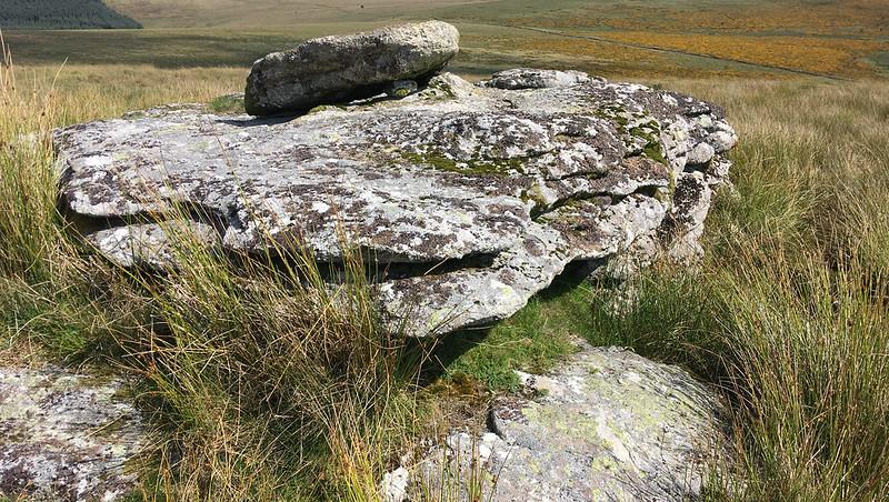 White Ridge Tor (higher outcrop)