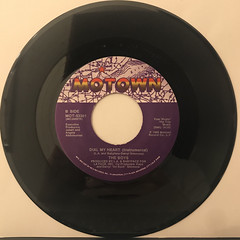 THE BOYS:DIAL MY HEART(RECORD SIDE-B)