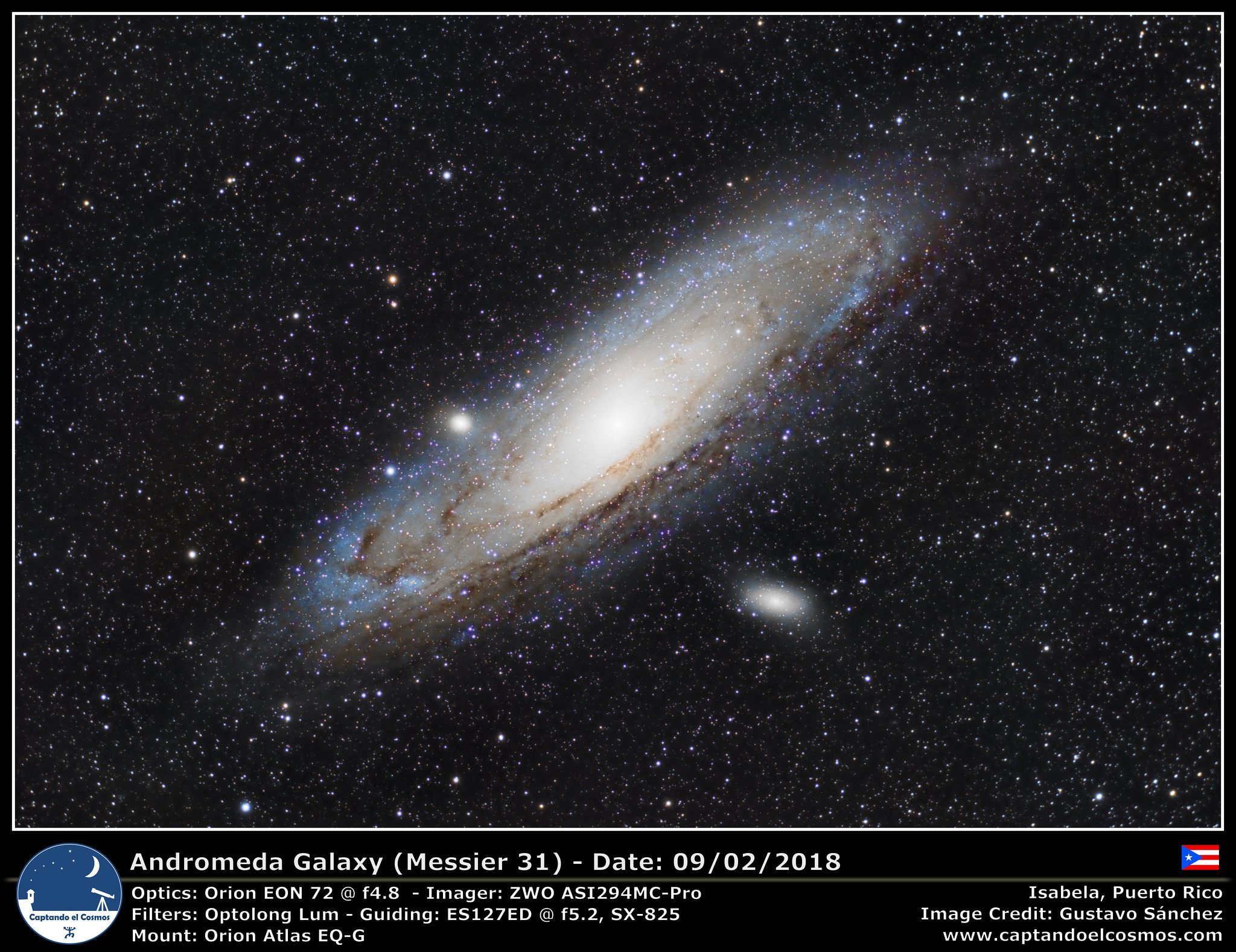 Andromeda Galaxy (Messier 31)
