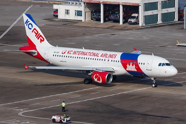 KC INTERNATIONAL AIRLINES A320-200 XU-127 0021