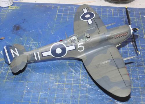Supermarine Seafire Mk.IIIc., Airfix (konvertering), 1/48 42900760710_eee56dcdff
