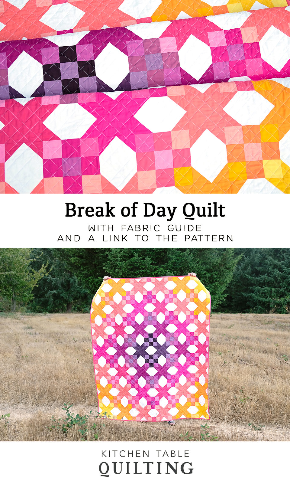 Break of Day Quilt - Kitchen Table Quilting