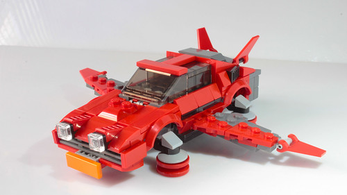 Lego Hot Ride glider from Fortnite
