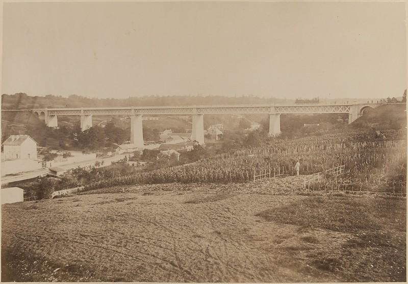 1885. Железная дорога между Л'Этан-ла-Виль и Сен-Клу