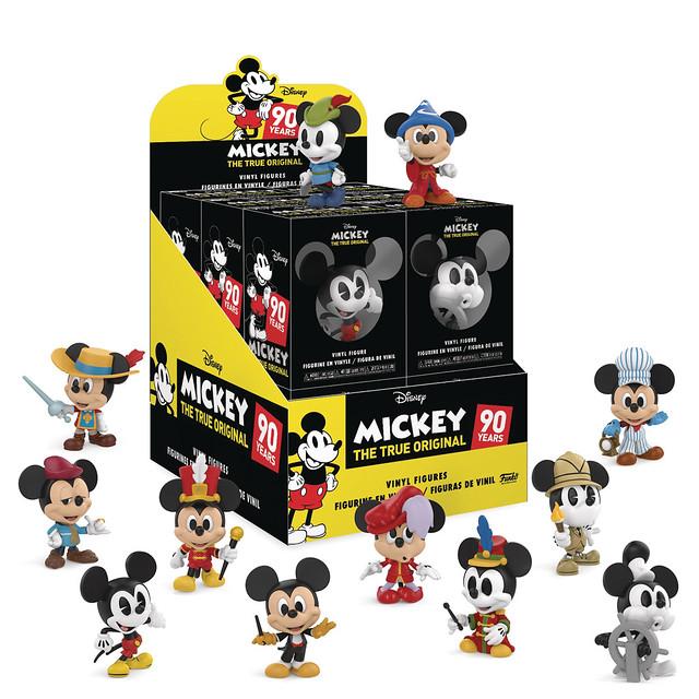 Funko Mickey's 90th Anniversary Mini Vinyl Figures