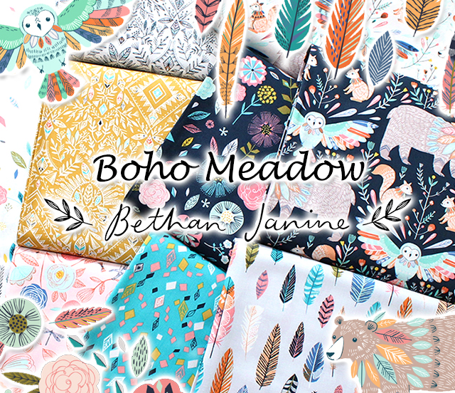 Dashwood Studio Boho Meadow Collection by Bethan Janine