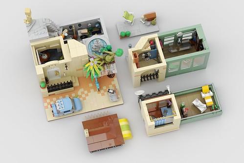 Mother's Visit LEGO MOC