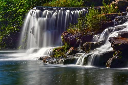 papajohnswaterfall waterfall louisville louisvillekentucky kentucky landscape