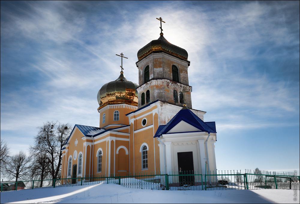 Черетянка, Беларусь, Церковь Успенская