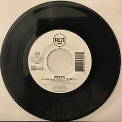 ROBYN:DO YOU KNOW(WHAT IT TAKES)(RECORD SIDE-A)