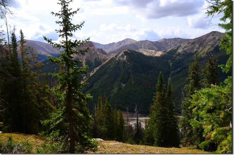Red Mountain from Continental Divide Trail