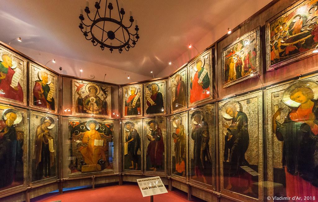 Иконостас Спасо-Евфимиевского монастыря г. Суздаля. 1660-е.