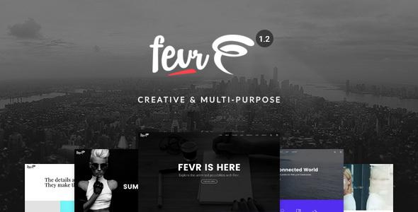 Fevr v1.2.9.6 - Creative MultiPurpose Theme
