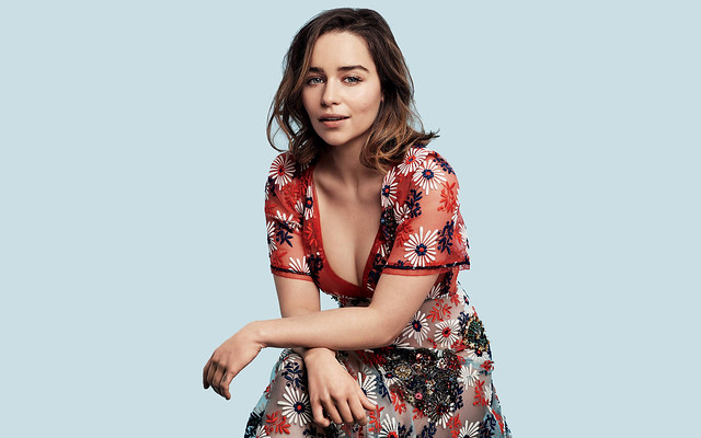 Emilia Clarke 4K Photoshoot