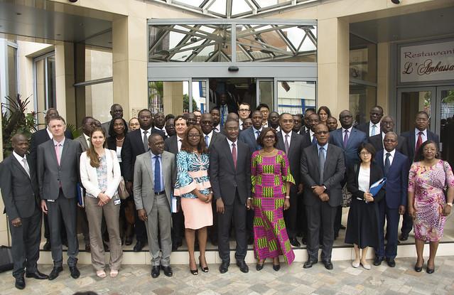 Cérémonie de consultation sur le DSP 2018-2022 de la Banque pour la Côte d'Ivoire avec les Parties prenantes nationales
