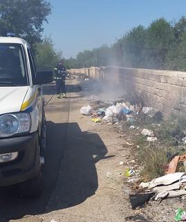 incendio circonvallazione Turi (3)