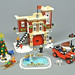 10263 Winter Village Fire Station by Brickset