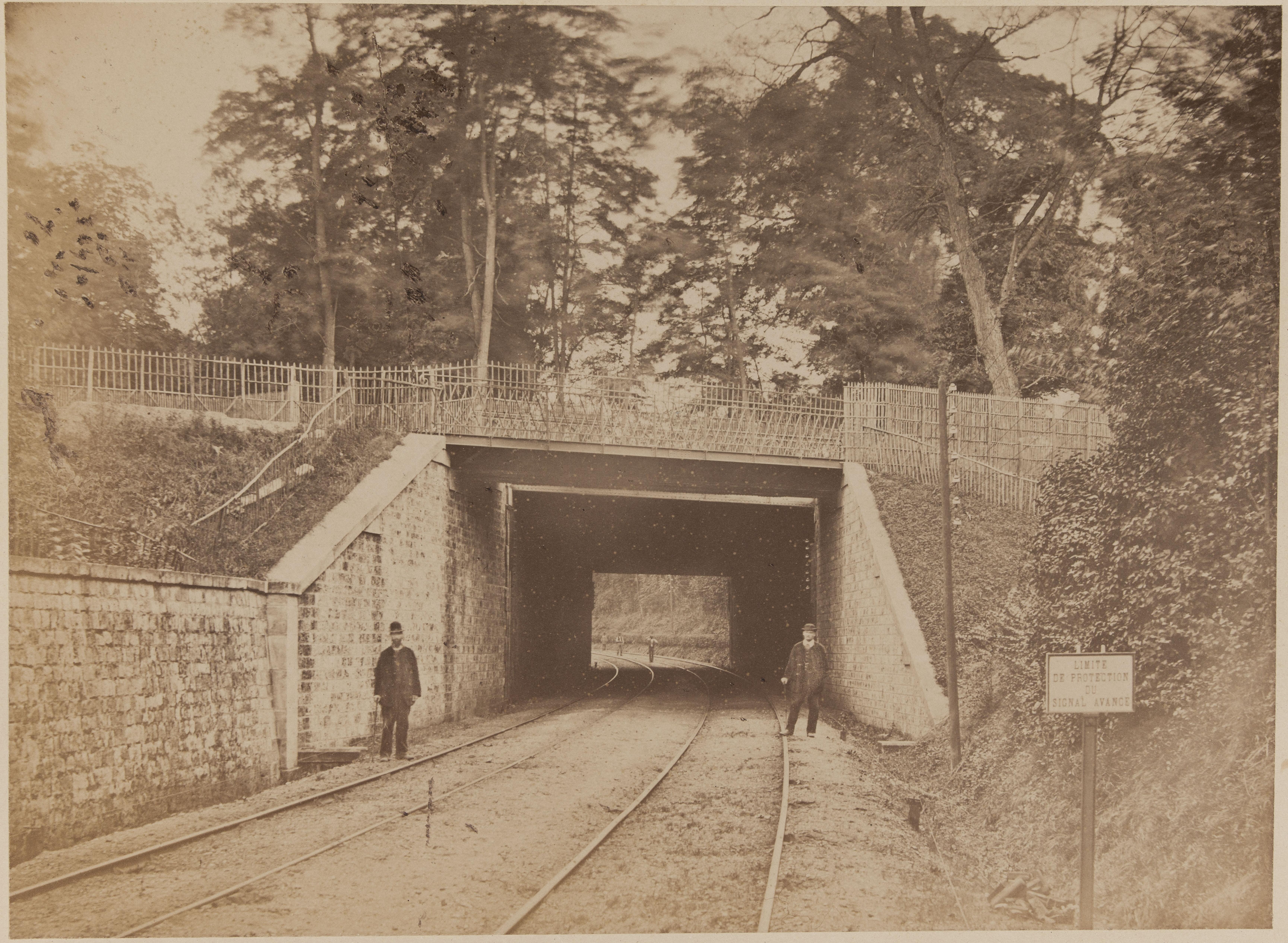 23. Верхний путепровод на линии Париж-Версаль