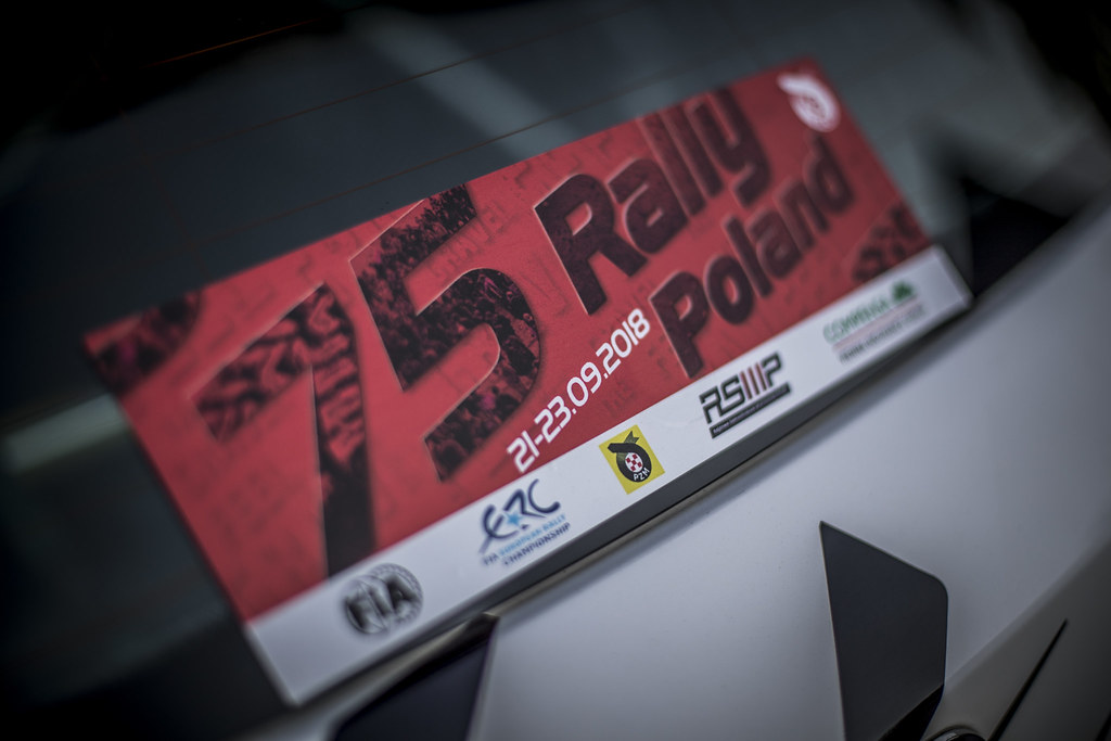 ERC illustration during the 2018 European Rally Championship PZM Rally Poland at Mikolajki from September  21 to 23 - Photo Gregory Lenormand / DPPI