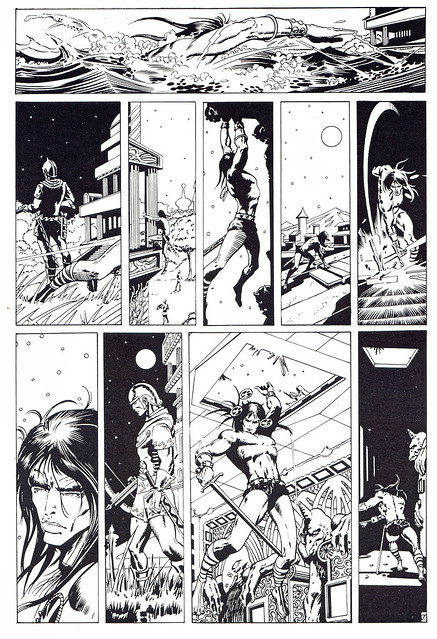 Conan de Roy Thomas y Barry Windsor Smith 03 -02- The God In The Bowl (El que acecha en el interior) -01