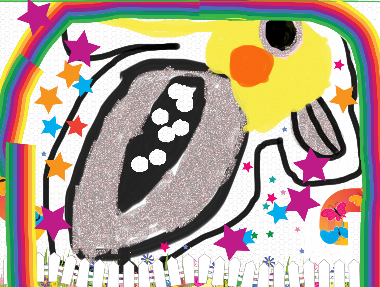 Best Drawing of 21st August. Painted with the PixieDust App