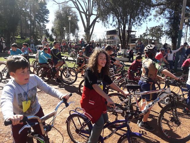 Bicicleteada Solidaria del Colegio San Pedro