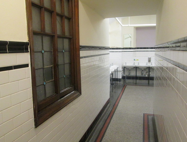 Rochdale Town Hall, Corridor to Toilets