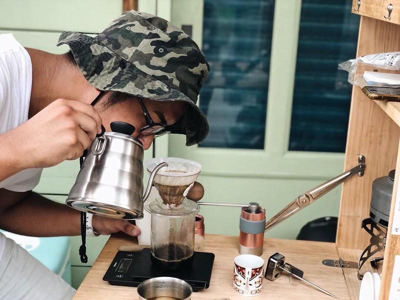 咖啡對於阿豪來說,已經成為生命裡不可或缺的東西。圖/小滿提供