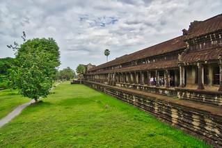Southern Gallery of Angkor Wat near Siem Reap, Cambodia