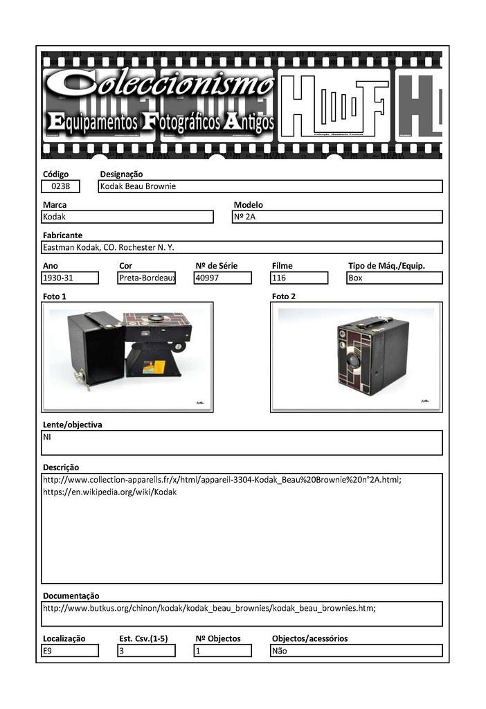 Inventariação da colecção_0238 Kodak Beau Brownie nº 2A Bordeaux