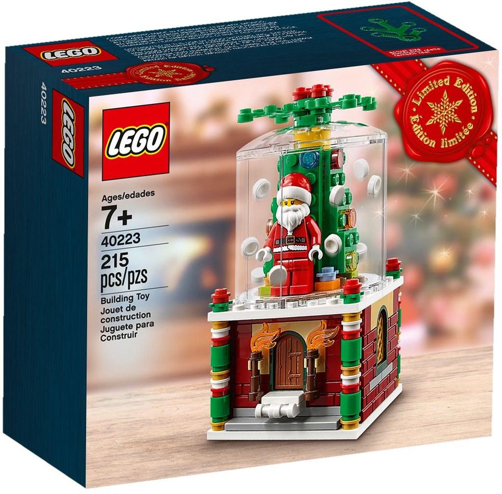 小巧精美的聖誕佳節旋轉盒~ LEGO 40293【聖誕旋轉盒】Christmas Carousel