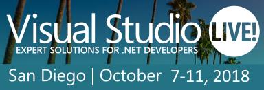 Visual Studio Live, San Diego CA