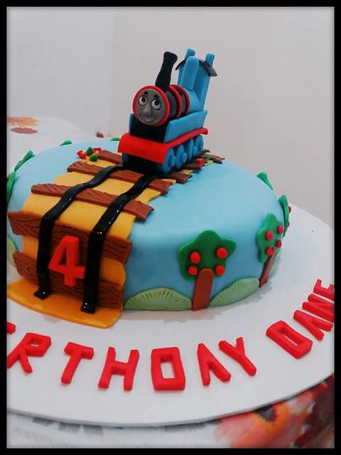 Thomas Train Cake by Sadeesha Weerakoon of Fairy Taste